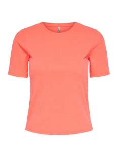 Only T-shirt ONLAIJA S/S TOP JRS 15195855 Knockout Pink