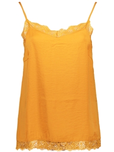 Vila Top VICAVA LACE SINGLET - NOOS 14044577 Golden Oak