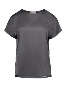 Zusss T-shirt HIPPE FRIVOLE TOP 03HT19fAgg GRIJS/GROEN