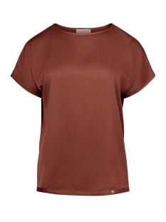 Zusss T-shirt HIPPE FRIVOLE TOP 03HT19fBro ROEST