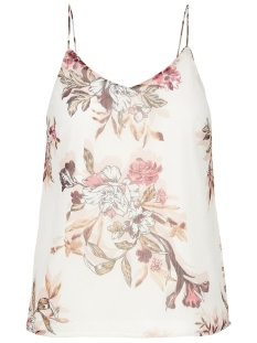 Vero Moda Top VMWONDA NILLY SINGLET EXP 10217168 Snow White/Lea