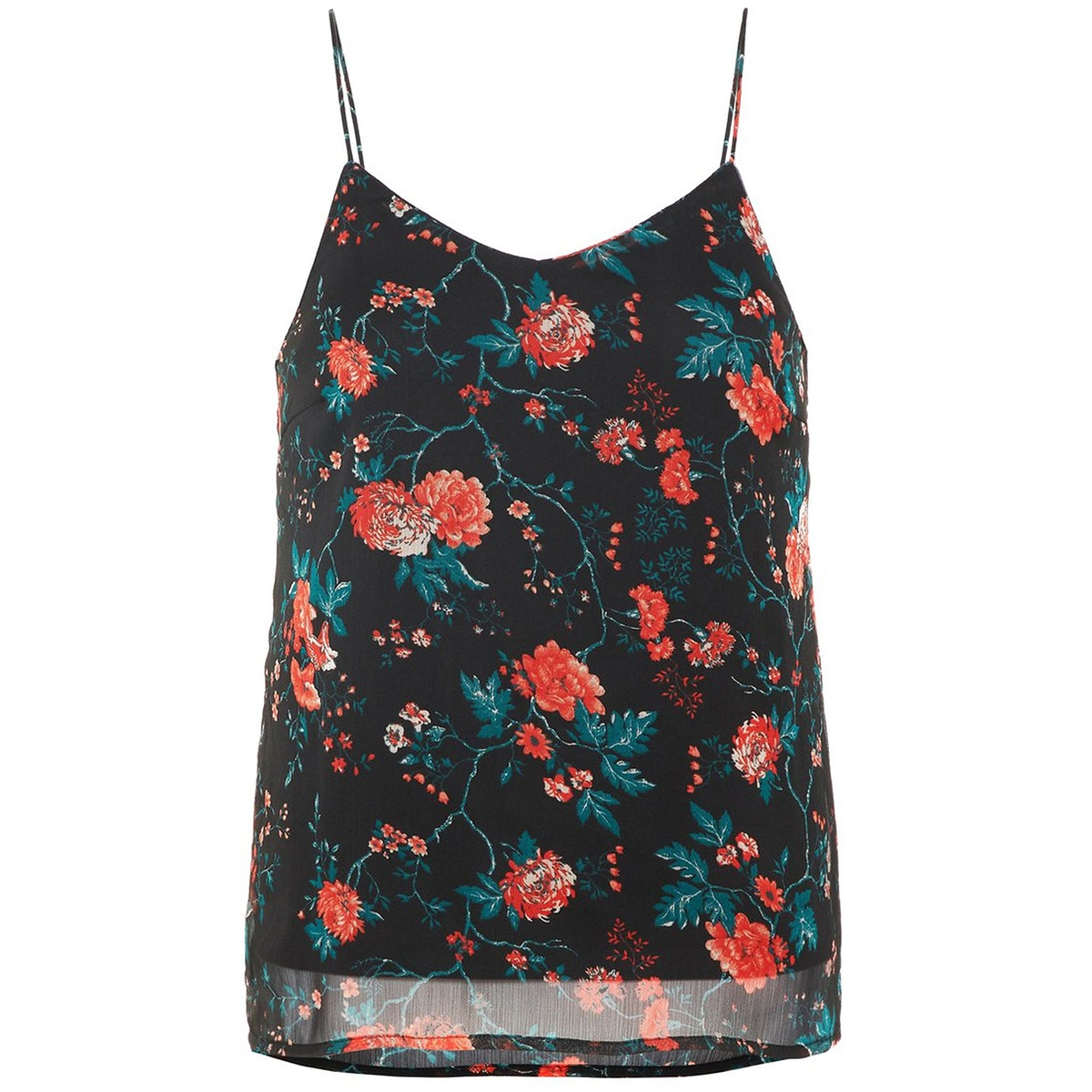 vmwonda nilly singlet exp 10217168 vero moda top black/lavia