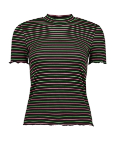 Only T-shirt ONLMAY S/S SLEEVE T-SHIRT JRS 15198505 Black/GREEN AND