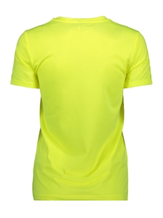 onlvalarie s/s top jrs 15195717 only t-shirt neon yellow/exception