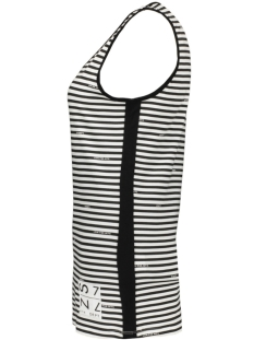 shirley singlet with logo 193 zoso top white/black