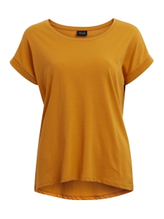 Vila T-shirt VIDREAMERS PURE T-SHIRT-NOOS 14025668 Golden Oak