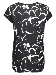 vmboca ss blouse multi aop 10132802 vero moda t-shirt black/ilona coll