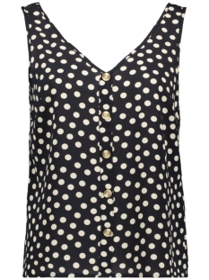 Vero Moda Top VMSASHA S/L BUTTON TOP AOP 10224677 Night Sky/DOT