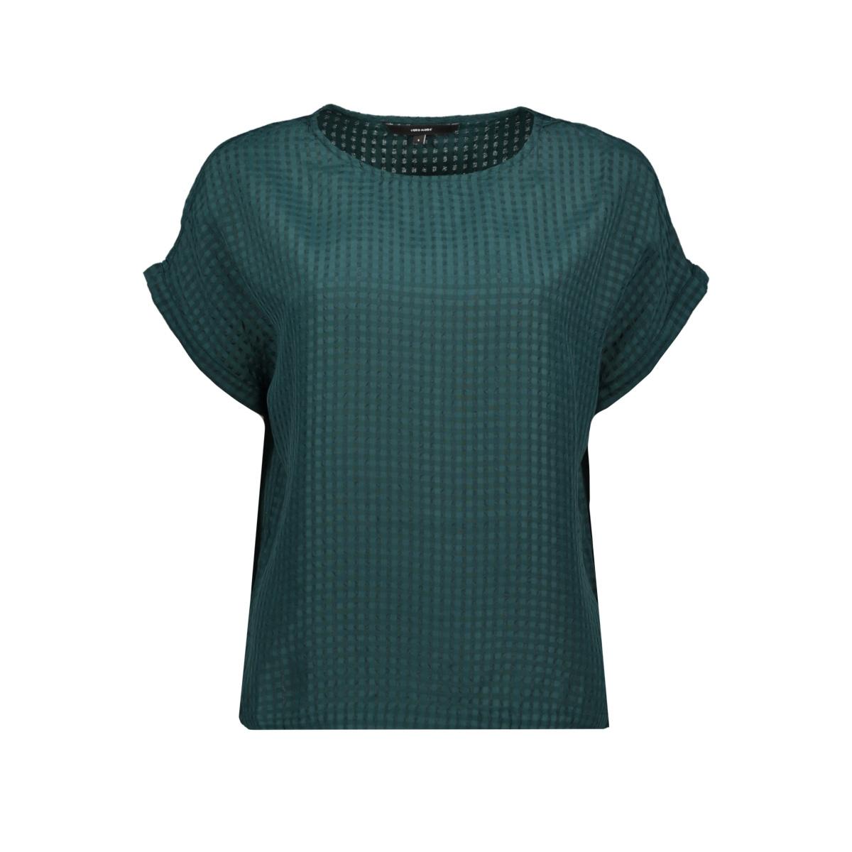 vmbeate s/s top wvn 10217677 vero moda t-shirt ponderosa pine