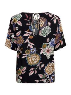 jdymarli s/s string top wvn 15181118 jacqueline de yong t-shirt black/multicolor