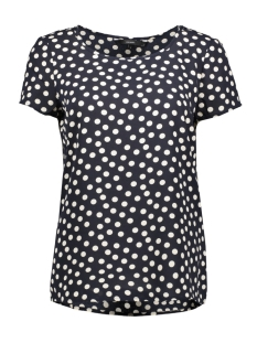 Vero Moda T-shirt VMSASHA SS TOP AOP 10221860 Night Sky/DOT