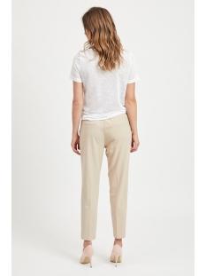 objtessi slub s/s v-neck noos 23023816 object t-shirt white