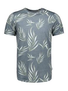jorzeq tee ss crew neck 12155556 jack & jones t-shirt total eclipse/slim