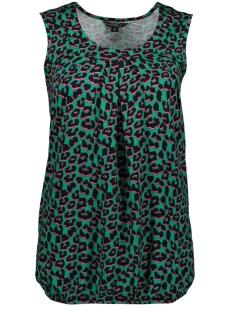 dafne sl emerald leopard ned top emerald