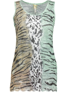 Key Largo Top WT TOP ZANZIBAR ROUND WT00148 1500 GREEN