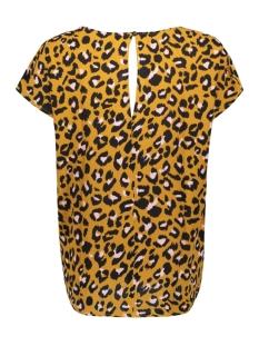 jdyutrecht milo trick s/s top wvn 15187967 jacqueline de yong t-shirt golden brown/rosa leo