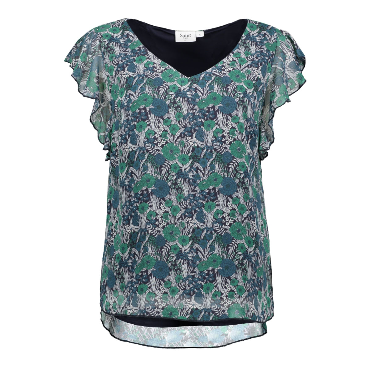 woven top s s u1008 saint tropez top 8310 greenlake