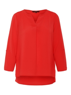 Vero Moda Blouse VMSASHA 3/4 TOP COLOR 10215422 Chinese Red
