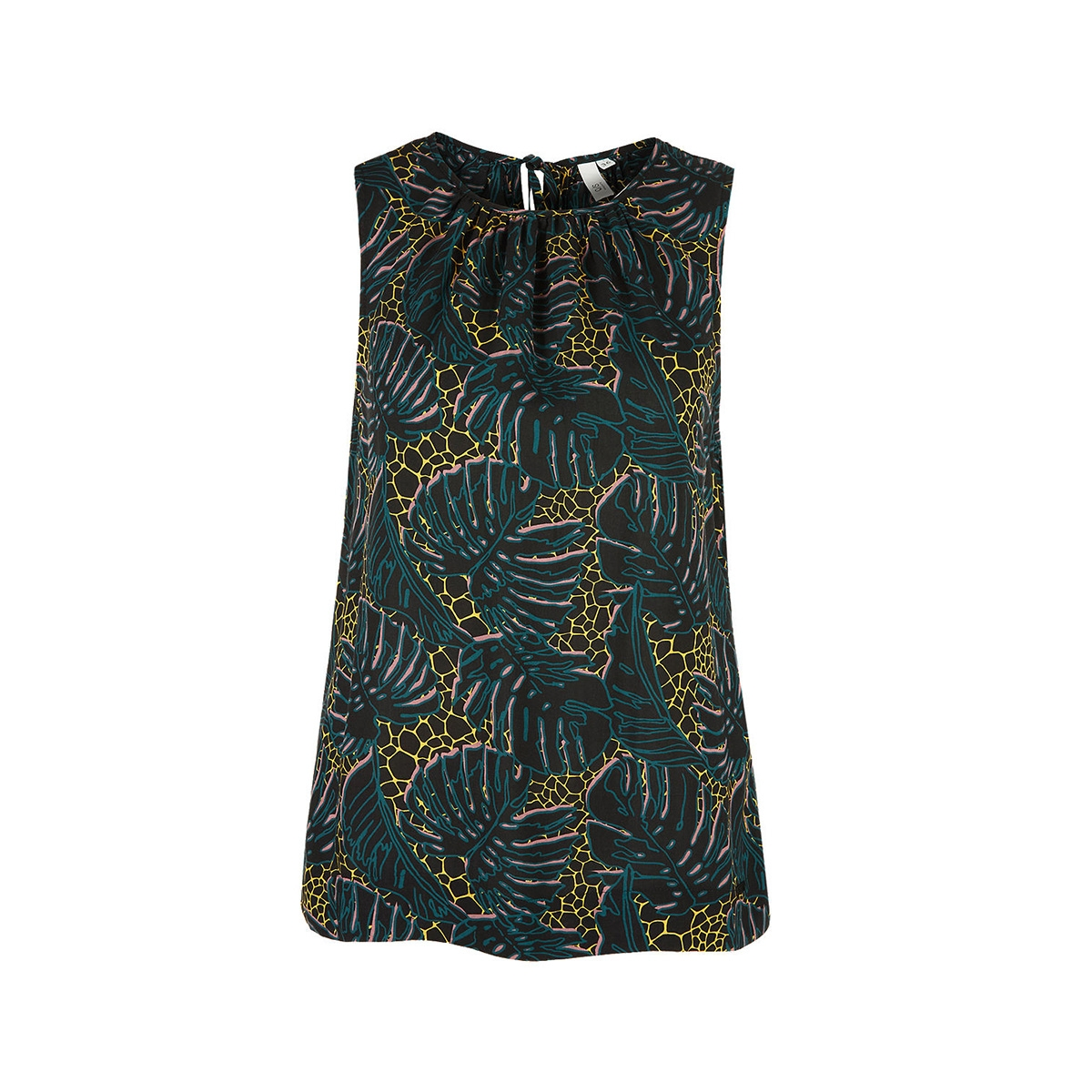 blousetop met bandjes in nek 41906133055 q/s designed by blouse 99a3