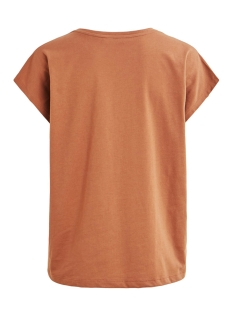 vitta t-shirt /rx 14056334 vila t-shirt caramel café/stay wild