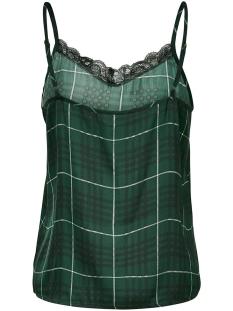 jdyappa treats lace singlet wvn 15181111 jacqueline de yong top darkest spruce/check