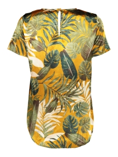 vmleaves s/s top exp 10226456 vero moda t-shirt thai curry/leaves