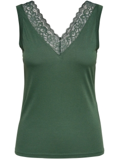 Jacqueline de Yong Top JDYKIM TREATS LACE SINGLET JRS 15181043 Duck Green
