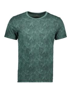 Jack & Jones T-shirt JPRLUKE AOP BLU TEE. SS CREW NECK 12161786 Dark Forest/SLIM FIT