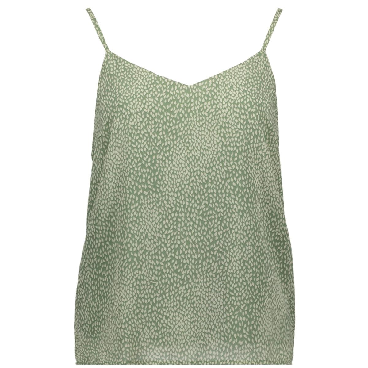 vmcailey nilly singlet exp 10226665 vero moda top hedge green/birch alis