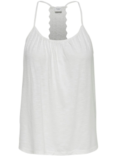 Jacqueline de Yong Top JDYKAYLA LACE SINGLET JRS 15174709 Cloud Dancer/DTM CROCHE