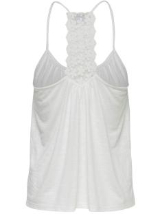 jdykayla lace singlet jrs 15174709 jacqueline de yong top cloud dancer/dtm croche