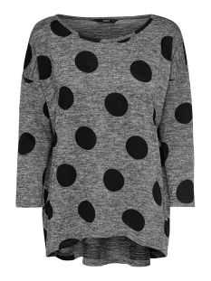 Only Trui ONLELCOS 4/5 AOP TOP JRS NOOS 15144286 Dark Grey Melan/BIG DOTS