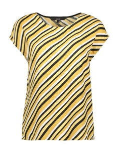 vmronja s/l top wvn ga 10219625 vero moda t-shirt amber gold/ronja