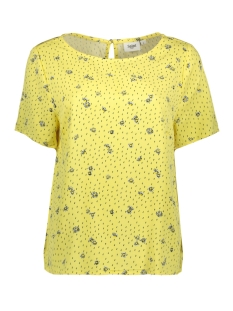 Saint Tropez T-shirt WOVEN TOP S/S U1013 2125 FREESIA