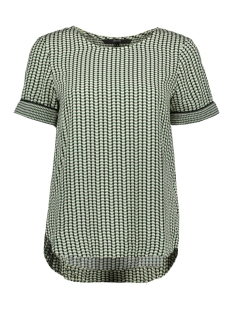 Vero Moda T-shirt VMARIEL SS TOP WVN 10215395 Hedge Green/ARIEL
