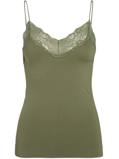 Pieces Top PCTOLOA SINGLET NOOS 17091740 Winter Moss