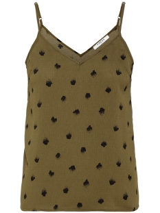 Pieces Top PCGAIL SINGLET CAMP 17097942 Beech/DOTTED DOT