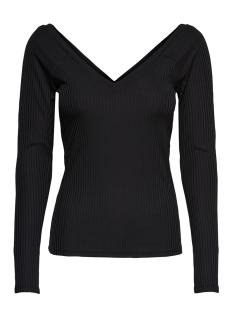 ONLMILA L/S V-NECK TOP JRS 15174510 Black