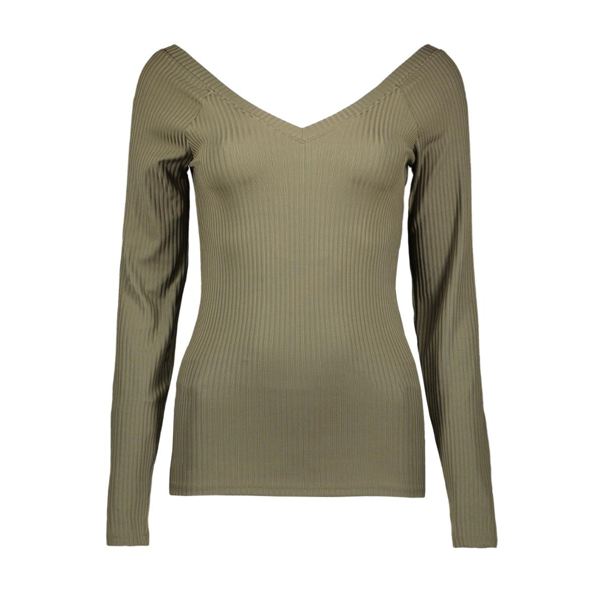 onlmila l/s v-neck top jrs 15174510 only t-shirt kalamata