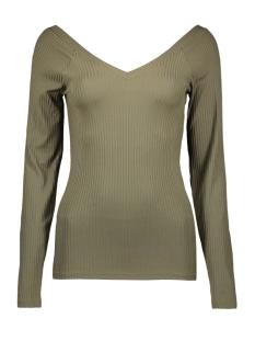 Only T-shirt ONLMILA L/S V-NECK TOP JRS 15174510 Kalamata