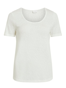 VISUMI S/S NEW BACK LACE TOP- NOOS 14052655 Snow White