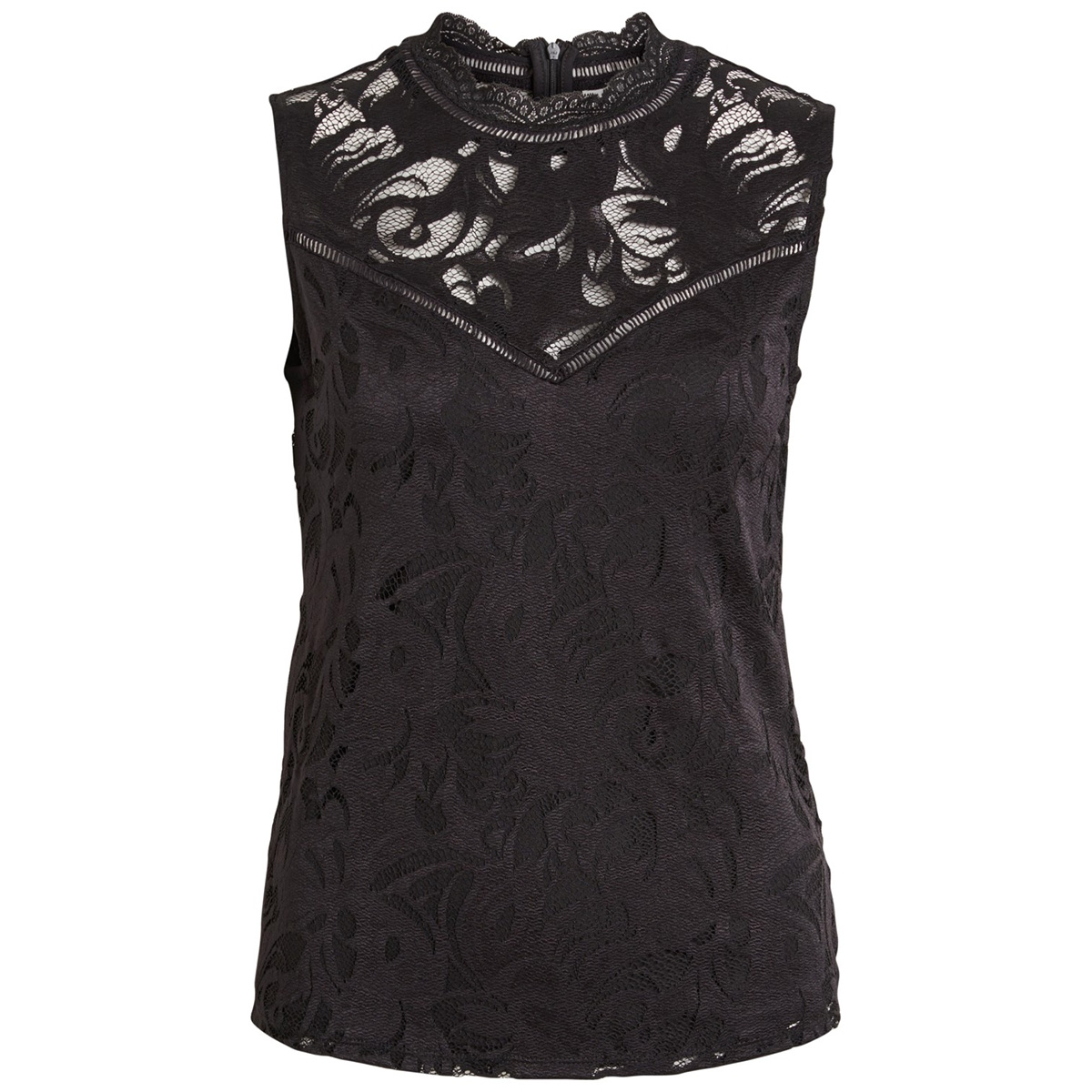 vistasia s/l lace top 14049851 vila top black