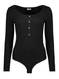 nmmox l/s body 27008708 noisy may t-shirt black