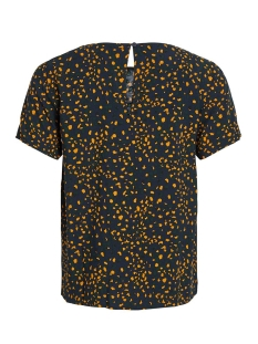 vimask tansy s/s top/l 14054697 vila t-shirt navy blazer/tansy