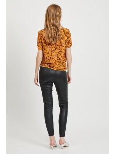 vimask tansy s/s top/l 14054697 vila t-shirt golden oak/tansy