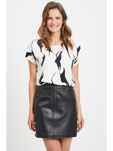 objalora s/s urban top div 104 23031241 object t-shirt gardenia/aop