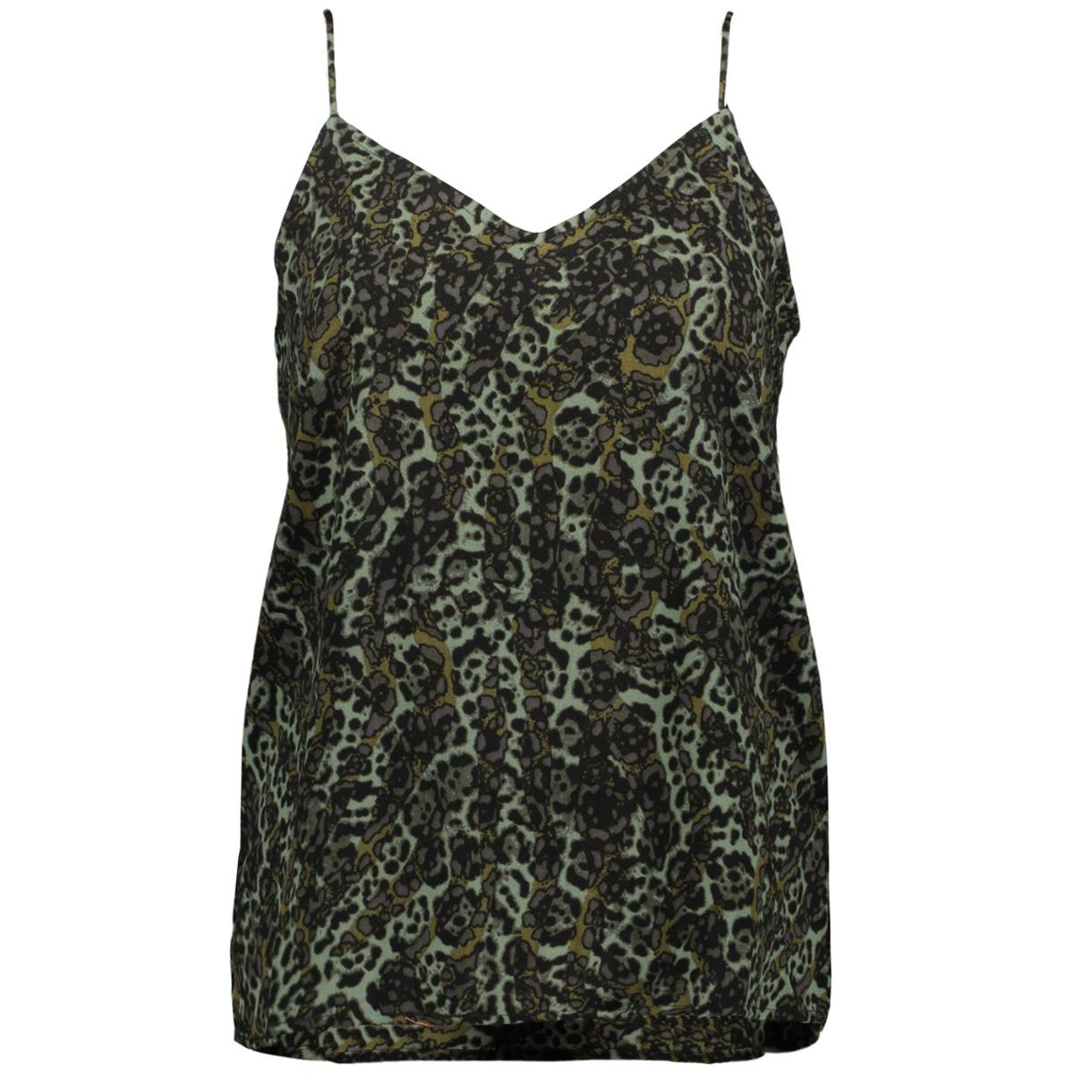 vmistanbul singlet vip 10223596 vero moda top ivy green/petra