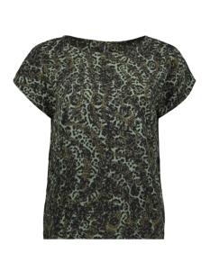 Vero Moda T-shirt VMISTANBUL S/S TOP VIP 10223595 Ivy Green/PETRA