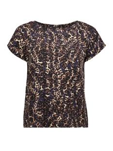 Vero Moda T-shirt VMISTANBUL S/S TOP VIP 10223595 Blueprint/PETRA