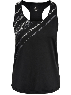 Only Play Sport top ONPJENNIFER AOP SL TRAINING TOP 15175600 Black/W. WHITE